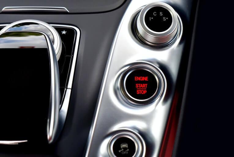 Car start button