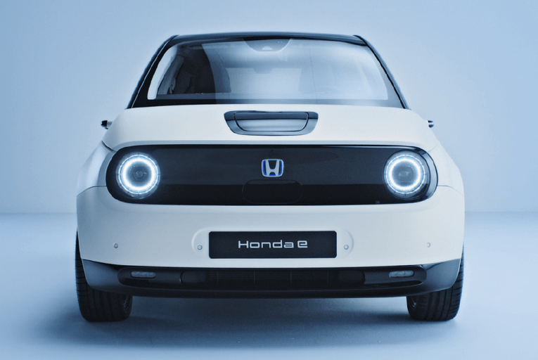 Honda e front view