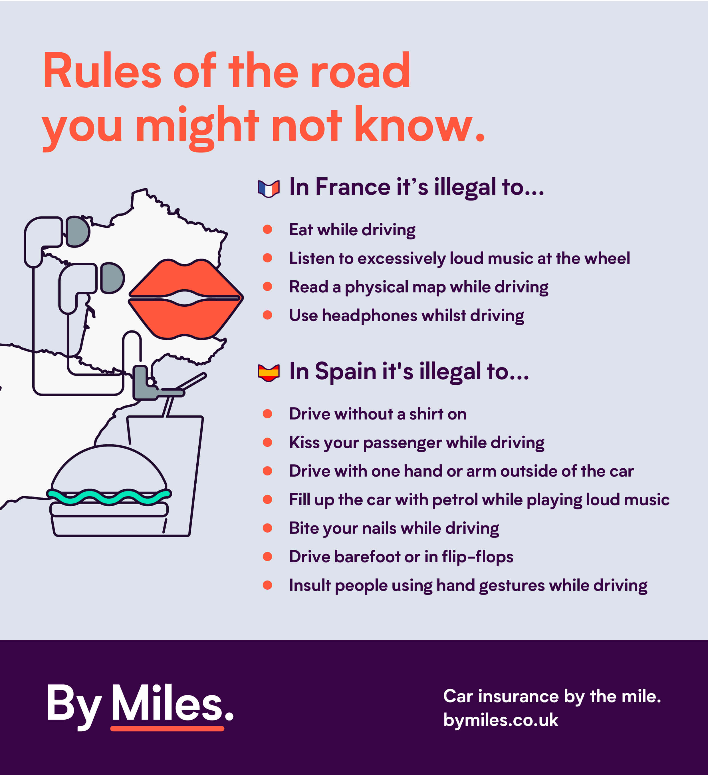 Rules Of The Road You Might Not Know - Driving Laws For A Road Trip To The Champions League Final