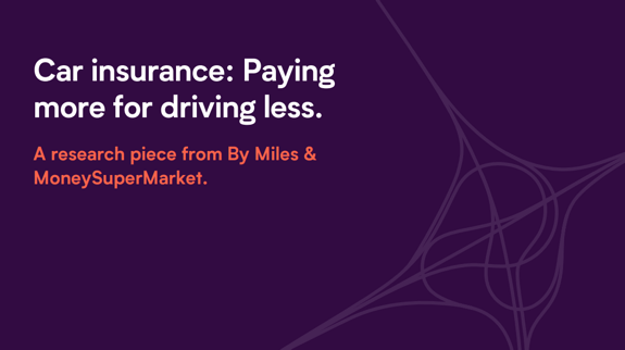 Lower Mileage Drivers Over-charged for Car Insurance - PDF download