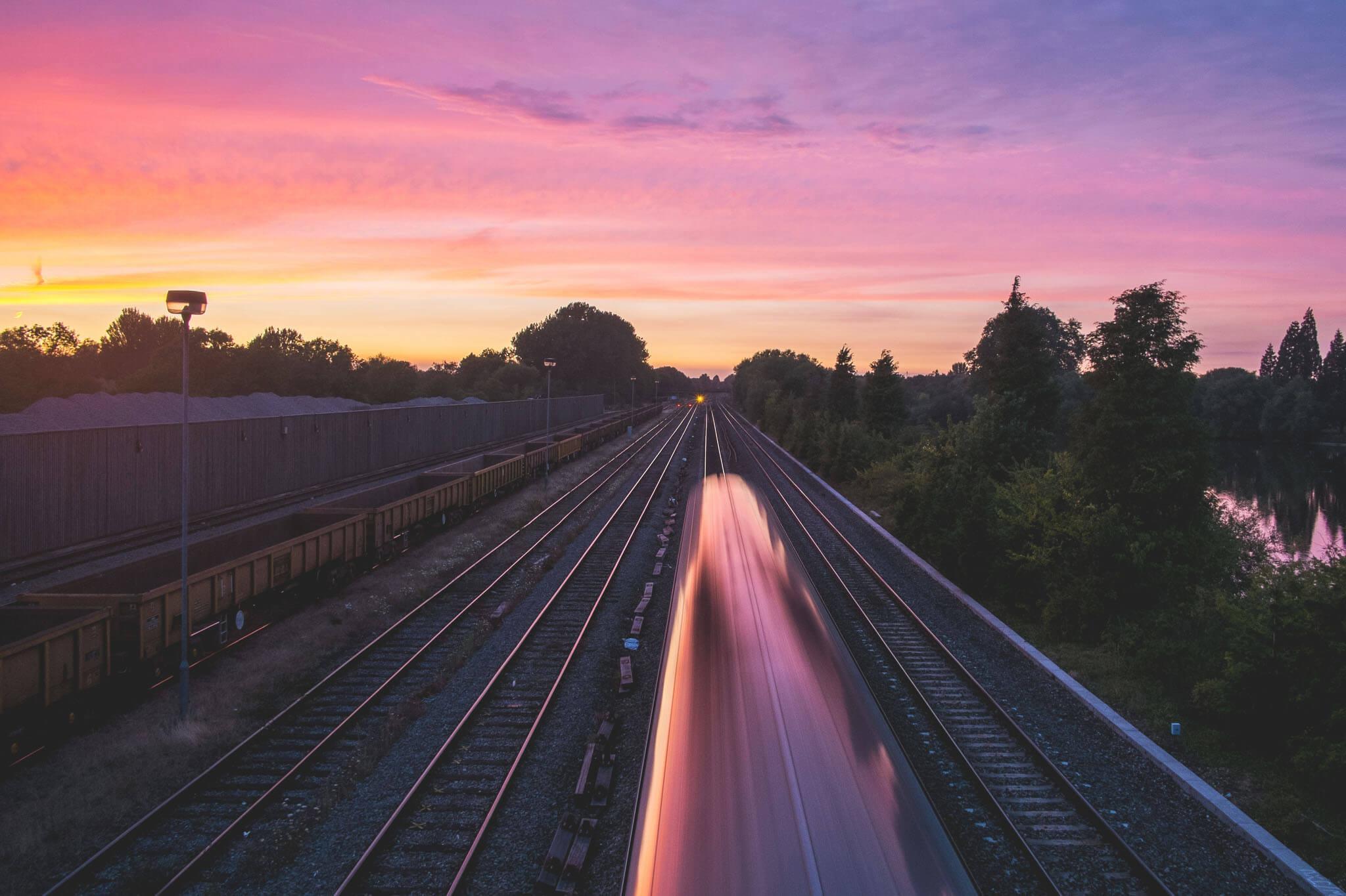 Commute by train